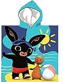 SETINO 821-570 Bing - Poncho de baño con capucha para niños (55 x 80 cm)