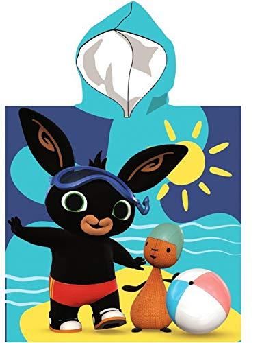 SETINO 821-570 Bing - Poncho da bagno per bambini con cappuccio, 55 x 80 cm