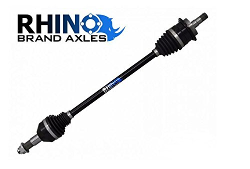 SuperATV Heavy Duty Rhino Brand Rear CV Axle for Can-Am Commander 800/1000 (2011-2015) - Stock Length Rear Axle - Upgrade From Your OEM Axle!