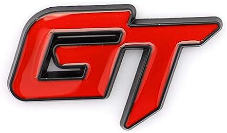 Ctzrzyt GT Sport Grill Emblema del Coche para MK5 GT Sport Car Chrome ABS Badge