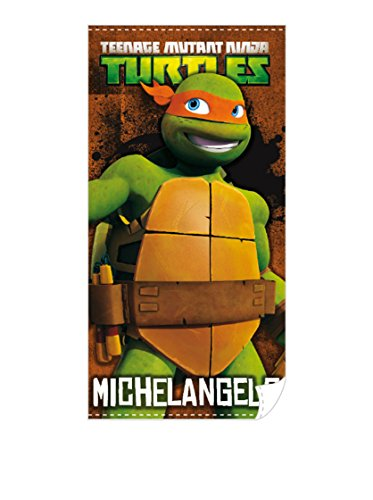 Tortugas Mutantes Ninja - Toalla de playa Michelangelo