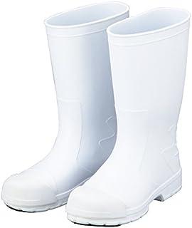 アズワン サニフィット耐油長靴白 先芯入 24.0cm /2-3820-05