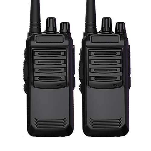 HGFDSA Walkie Talkie Ricaricabile a Lungo Raggio 16ch Radio Set Walkie Talkie con Ricetrasmettitore per Auricolari per La Sopravvivenza sul Campo per Adulti Comunicazione Escursionistica