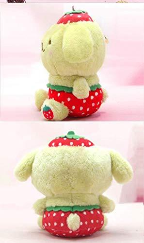 HNZSErdbeer Hello Kitty Plüschtier Melodie Plüsch Anhänger Pudding Puppe Für Kinder Paare Geburtstagsgeschenk 20cm