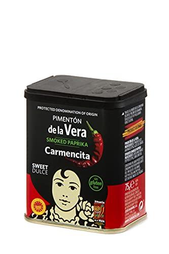 Pimentón dulce ahumado D.O. de la Vera Carmencita, 75 g