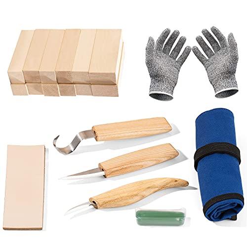 Yangbaga Whittling Wood Knives Kit