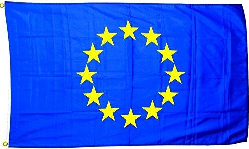 Hemore EU Flagge Europa Fahne [90x150cm] NEU Wetterfest AZ Flag