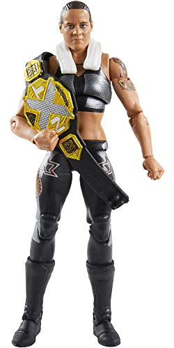 WWE Shayna Baszler Fan Takeover 6 in Elite Action Figure with Fanvoted Gear and Accessories 6 in Posable Collectible Gift Fans Ages 8 Years Old and Up