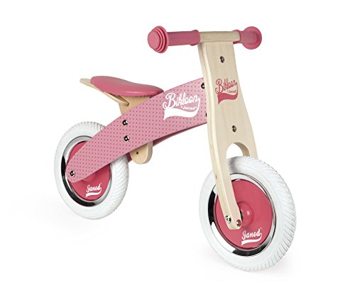 Janod - J03259 - Draisienne Little Bikloon Rose (bois)