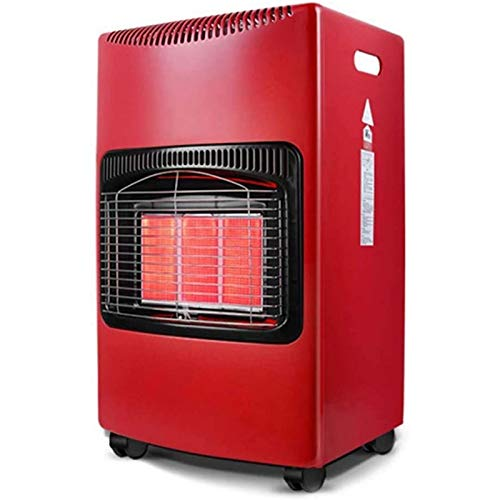 WBL Calentadores de Gas, Estufa de Parrilla de Gas Portátil para Acampar, Calentadores de Ventilador de Calor Rápido de Ahorro de Energía Móviles