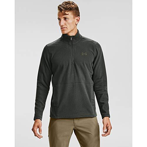Under Armour Mens Zephyr Fleece Solid Long Sleeve ¼ Zip T-Shirt