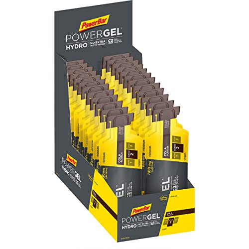 PowerBar PowerGel Hydro Cola 24x67ml - High Carb Energy Gel + C2MAX Magnesio e Sodio