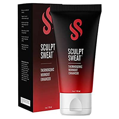 The Perfect Sculpt Sweat Cream Gel - Sweat Boosting Thermogenic Workout Enhancer with Aloe & Dead Sea Salt