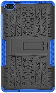 ODIN - جراب لأجهزة تابلت وكتب إلكترونية - جراب TAB E7 لجهاز TB-7104F 7 بوصة جراب مدرعي من السيليكون TPU + PC مضاد للصدمات ...