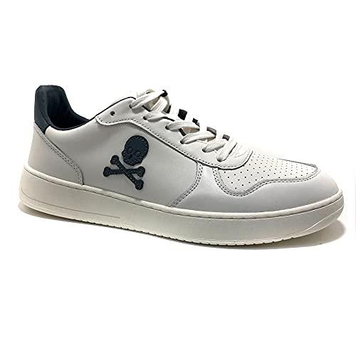SCALPERS Gallagher, Sneakers, para Hombre, Color Blanco - Cuero Talla: 43