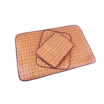 Matelas Tapis for Chien Four Seasons Tapis Universel for Chien Été Pet Cool Pad Golden Retriever Tapis de Sol Tapis de climatisation (Color : Pink, Size : S)