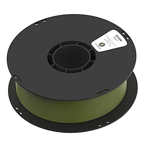 3D Printer Filament, PLA K5M Filament, Matte Texture, for 3d Printers and 3d Pens, 1.75mm, 1kg Spool-Olive green_1.75mm