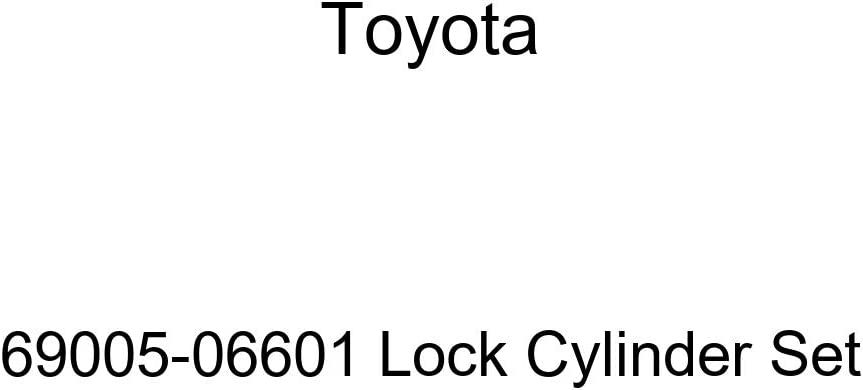 Genuine Toyota OFFicial mail order 69005-06601 Today's only Cylinder Lock Set