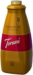 Torani Pumpkin Pie Sauce, 4/64OZ