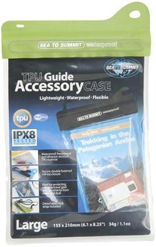 Sea to Summit TPU Waterproof Accessory Case (Medium Lime) by Sea to Summit