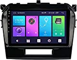 Sat Nav Android 10.0 Coche Estéreo Double Din Para Suzuki Super Grand Vitara 2015-2019 Gps Navigation Gps Naveja De La Cabeza De 9 Pulgadas Mp5 Reproductor Mul(Size:ocho núcleos,Color:WIFI:4GB+64GB)