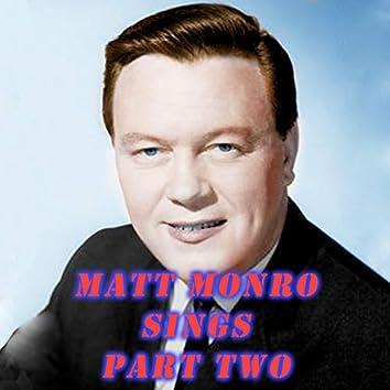 Matt Monroe Sings Part Two