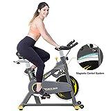 VIGBODY Indoor Cycling Bike Stationary Bike Exercise Bike With Adjustable Magnetic Resistance Cardio Workout Bike Home Bicycle