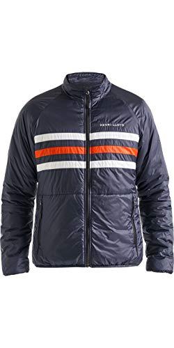 Henri Lloyd Herren Fremantle Stripe Liner Coat Jacke Navy Blue - Lightweight - Lightweight Design