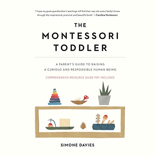 Page de couverture de The Montessori Toddler