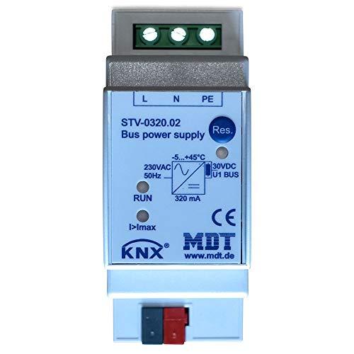 MDT® KNX/EIB Spannungsversorgung / 2TE / 320MA / 230V (AC) > STV-0320.02