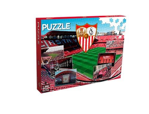 Sevilla FC Puzzle 1000 Piezas (11909), Multicolor
