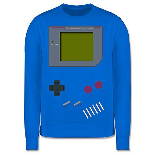 Shirtracer Up to Date Kind - Gameboy - 140 (9/11 Jahre) - Himmelblau - Retro - JH030K - Kinder Pullover