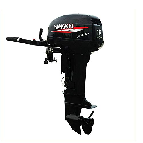 Best Price LOYALHEARTDY 18 HP 2-Stroke Outboard Boat Motor Heavy Duty Engine Complete CDI Water-Cool...