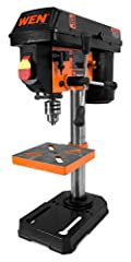 Includes a 1/2-inch keyed chuck and onboard key storage Operates at 5 different speeds: 740, 1100, 1530, 2100, 3140 RPM Spindle travels up to 2 inches with easy to read, locking linear depth stops for accurate and repeatable drilling operations.Cord ...