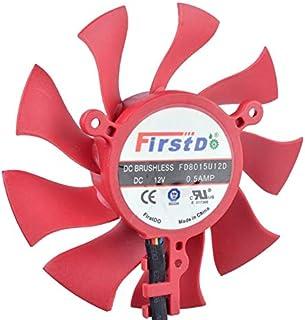 Brand new original Firstd FD9015U12D 12V 0.55A sapphire graphics card cooling double fan