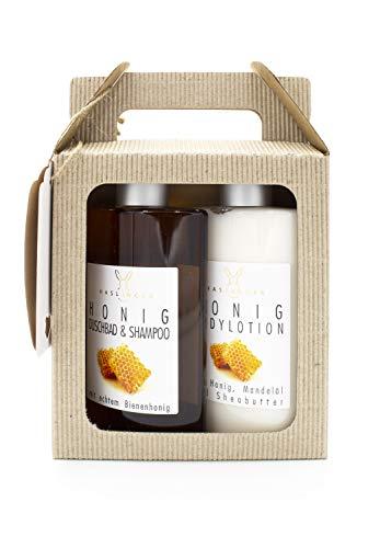 Honig - Champú y loción corporal en caja de regalo, 200 ml
