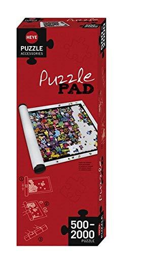 HEYE 80589 - Puzzle Pad - Puzzlematte für 500 - 2000 Teile, weiß
