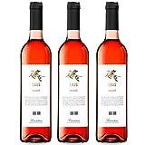 LAUS Rosado, Vino Rosado - Añada 2019 - - D.O. Somontano - Paquete de 3 botellas, 75cl