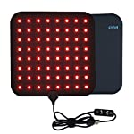 Cirius LED Pad Near-Infrared Red Light Therapy Device Home Use Portable Heating Pad Deep Penetrating Low-Level Light Therapy for Pain Relief, Muscle Therapy