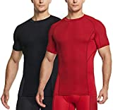 2 Ways Air Circulation: TSLA Men's Cool Baselayer Short Sleeve T-Shirts Review