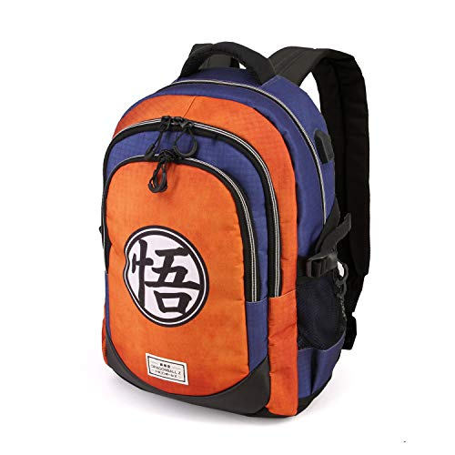 Karactermania Dragon Ball Symbol-Running HS Rucksack Mochila Tipo Casual 44 Centimeters 21 Multicolor