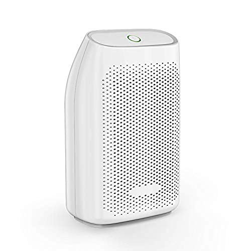 Read About LSYOA Portable Electric Dehumidifier, 700ml Capacity Compact Quiet Auto Shut Off Mini Dry...