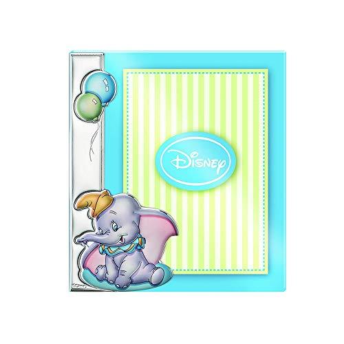 Cornice Per Foto Portafotos Plata Act 925M Disney Foto 15X20 Cm. Dumbo Palloncini Blu Celeste
