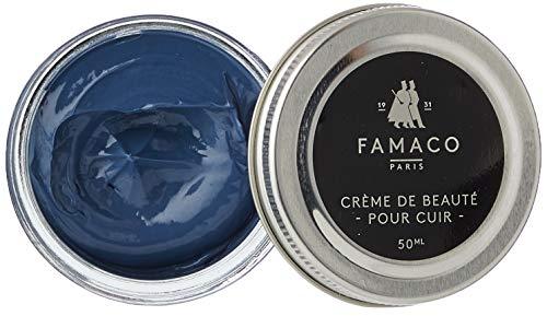Collonil Famaco Cream Polish, Cirages et produits d'entretien Mixte Adulte, Bleu (Blue Lavande), 50 mL