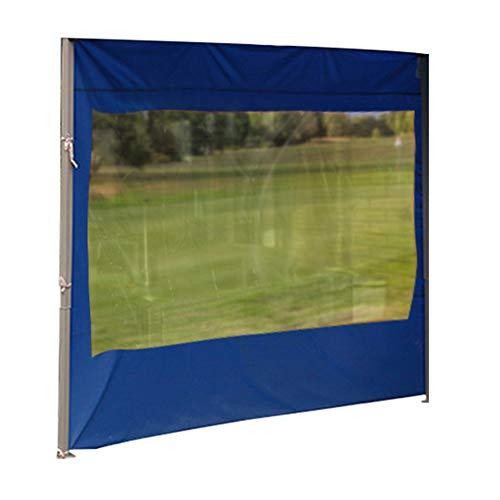 Cenador de jardín de 3 m para paneles laterales de repuesto con ventanas laterales, totalmente impermeable, para exteriores, camping, boda, jardín, fiesta, antiUV, tela Oxford, sin marco