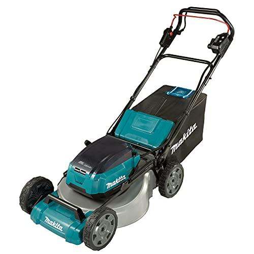 Makita DLM532PG2 Cordless Lawn Mower, 36 V