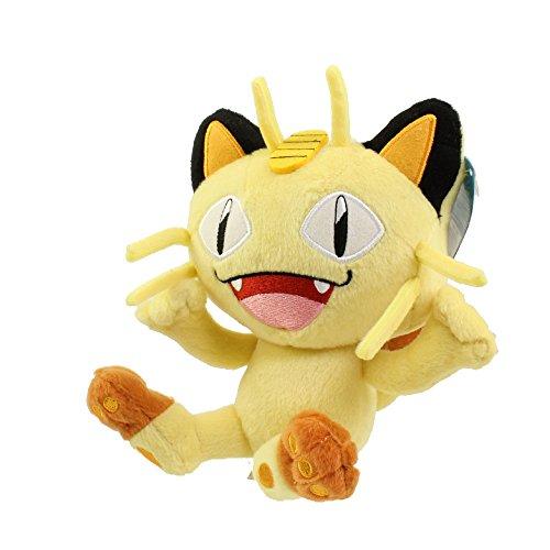 Tomy - Peluche Pokemon - Miaouss 18cm - 0053941188467