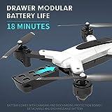 Drone Ultraligero Y Portátil, Drone HJ18 1080P 4k Y Cámara Video En Vivo GPS HD WiFi FPV Flying Drone