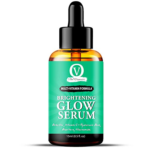 Face Glow Serum for Men & Women With All Natural Ingredients, for All Skin Types