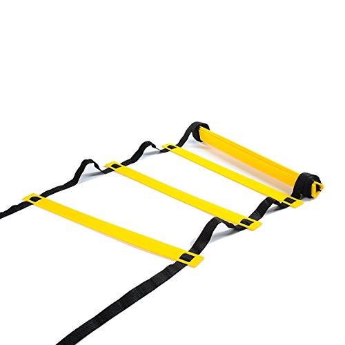 Ndier 6m Escala de Velocidad Equipement de Entrenamiento de fútbol de Escala de Ritmo para Ejercicio Fitness pies formación